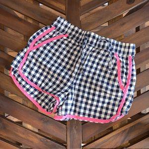 Gingham Patterned Shorts